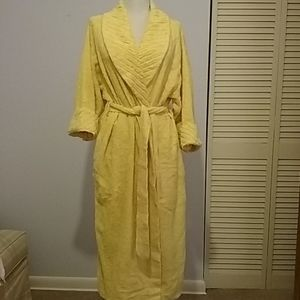 Vintage Chenille robe by HERBCRAFT